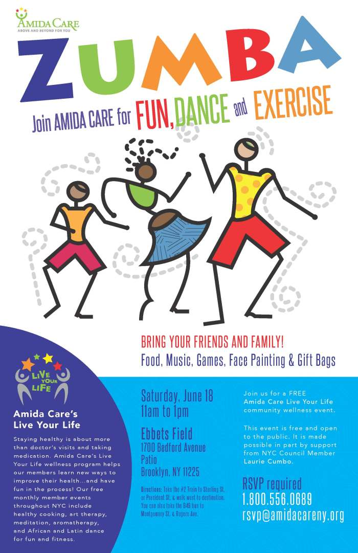 Live Your Life Zumba June 2016 Poster (2)