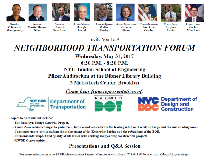 Neighborhood Transportation Forum