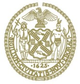 NYC Council seal gold