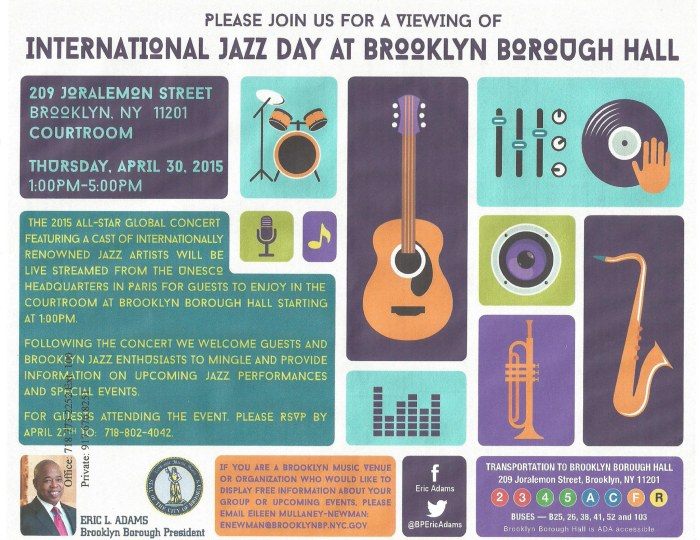 intl jazz day