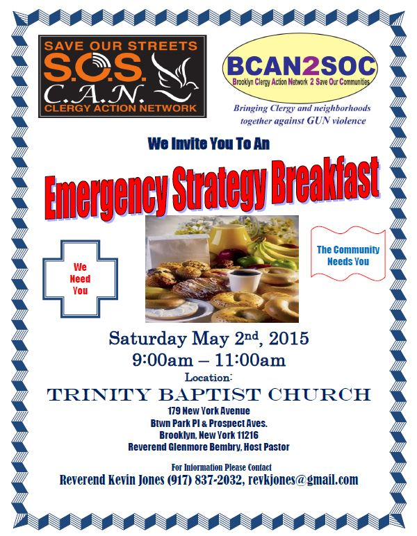 SOS  BCAN Breakfast May  2015