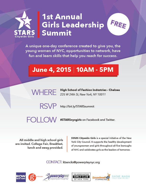 1st Annual Girls Leadership Summit