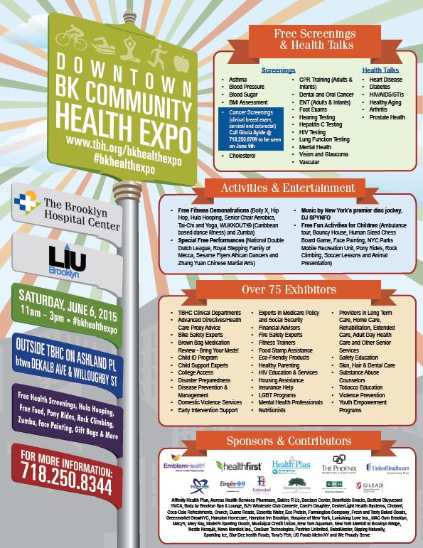 Dwntwn Bklyn Health Expo
