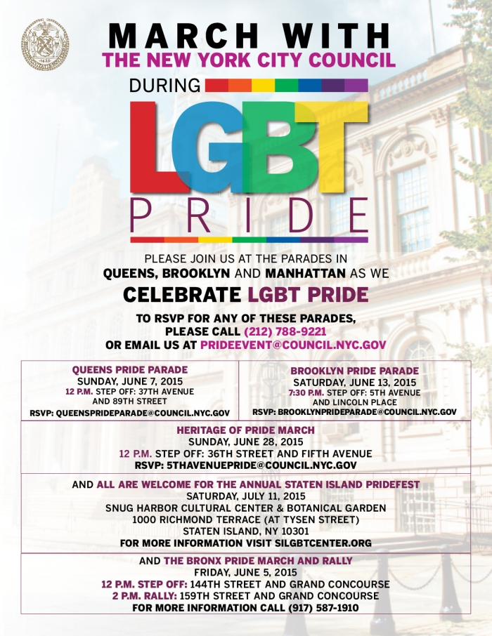 Join us to Celebrate LGBT Pride Parade