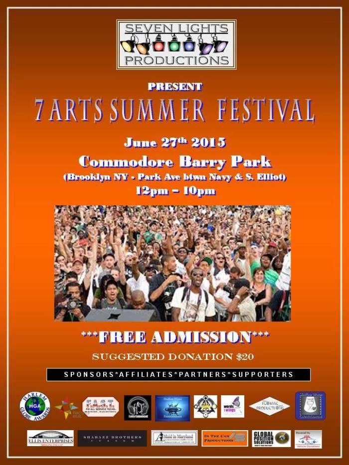 7 arts summer festival