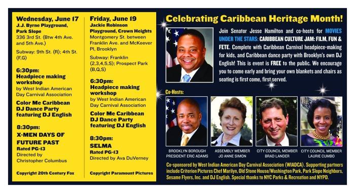 Caribbean film stars