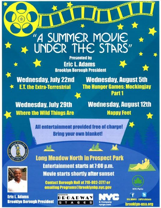 Summer Movie under the Stars