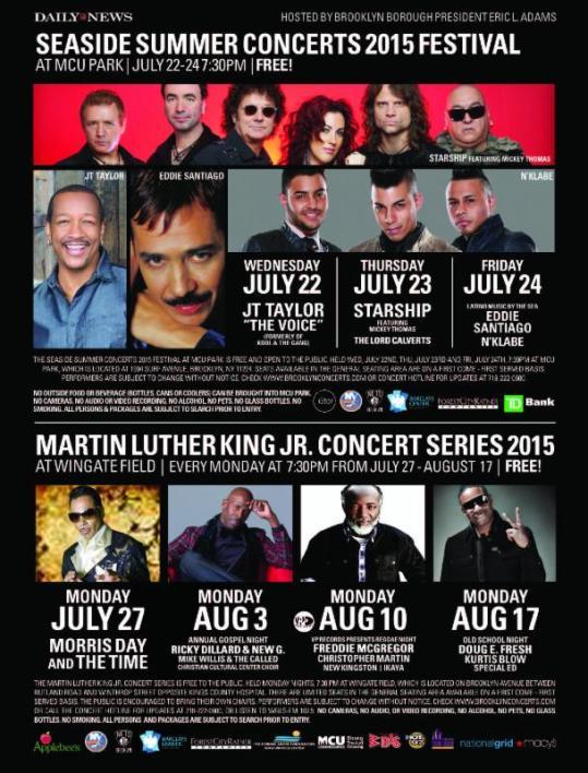 Free Summer Concert Series