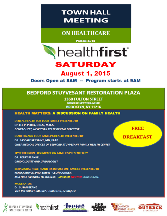 Healthfirst Town Hall Meeting