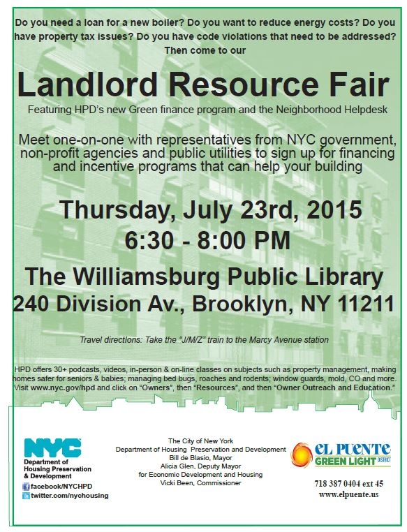 Landlord Resource Fair