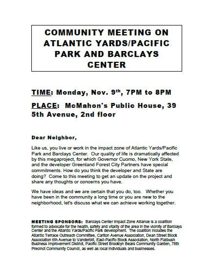 atlantic yards pacific park meeting
