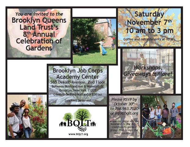 celebration of gardens