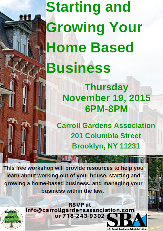 Home Based Business 11.19