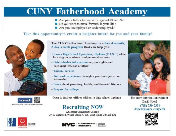 CUNY Fatherhood at LaGuardia