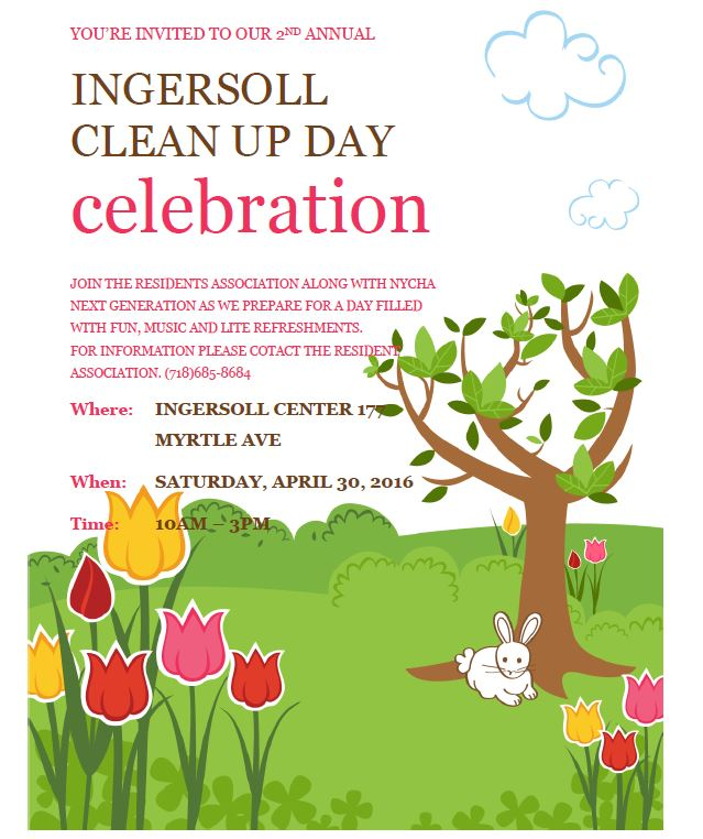 ingersoll clean up day