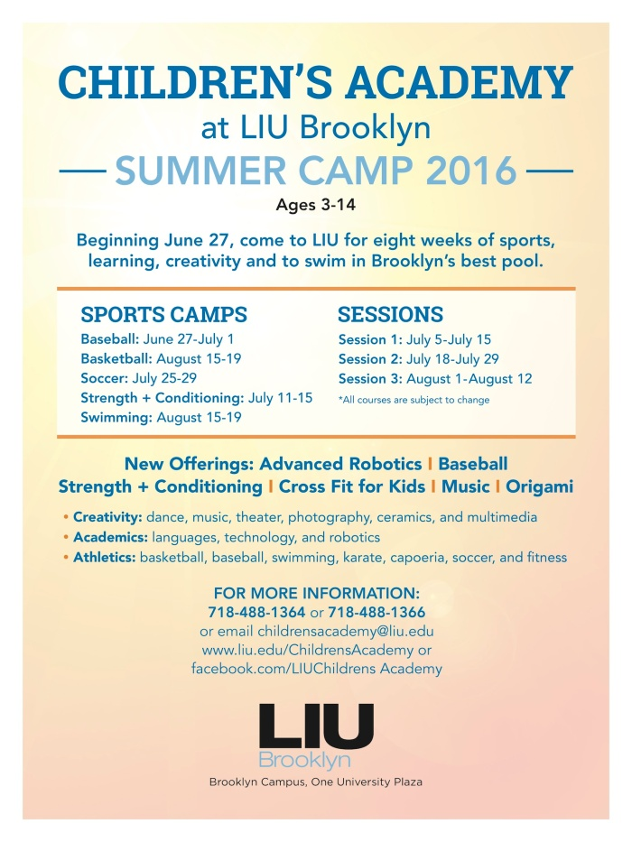 LIU_Summer_Camp_2016