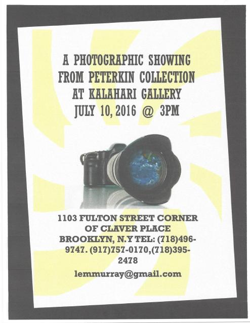 photographic event