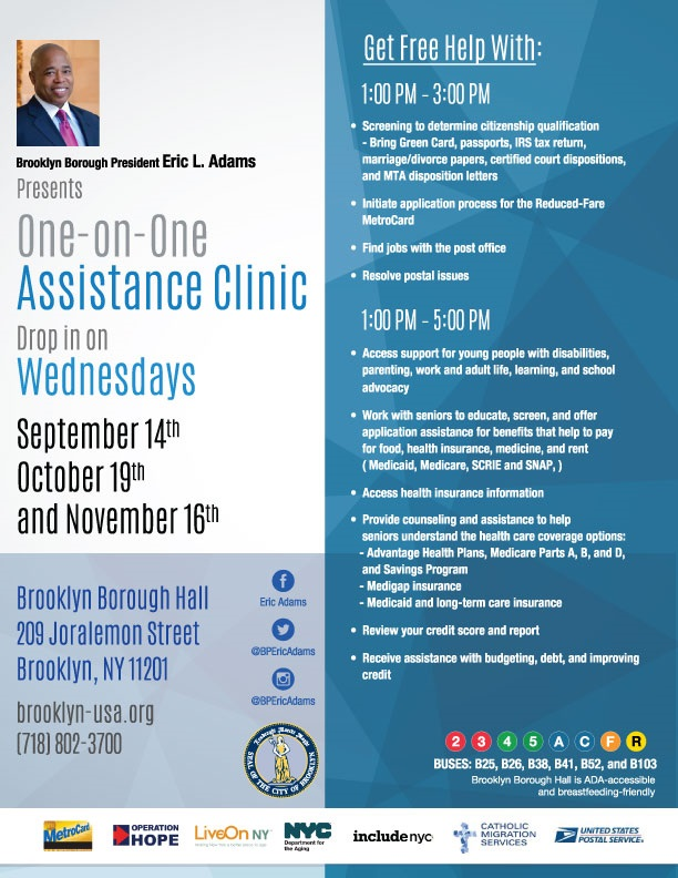 one-on-one-assistance-clinic-flyer