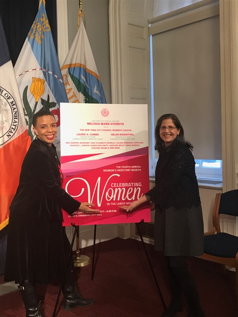 Women's Caucus Co-Chair Helen Rosenthal and I were proud to present our 4th Annual HerStory Event at City Hall