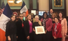 We were pleased to have Speaker Melissa Mark-Viverito present citations to our HERStory Honoree