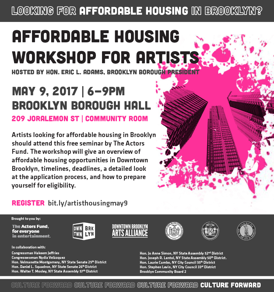 ... Workshop for Artists | New York City Council Member Laurie A. Cumbo