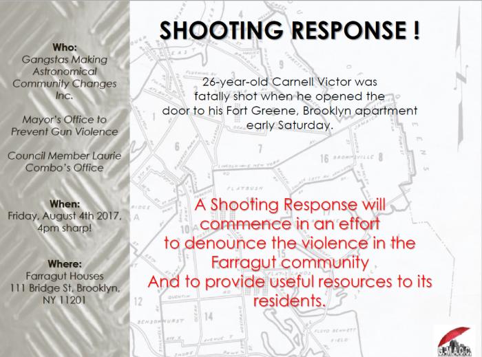 Farragut Houses Shooting Response 0804