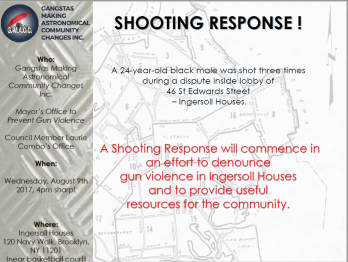 Ingersoll Shoot Response