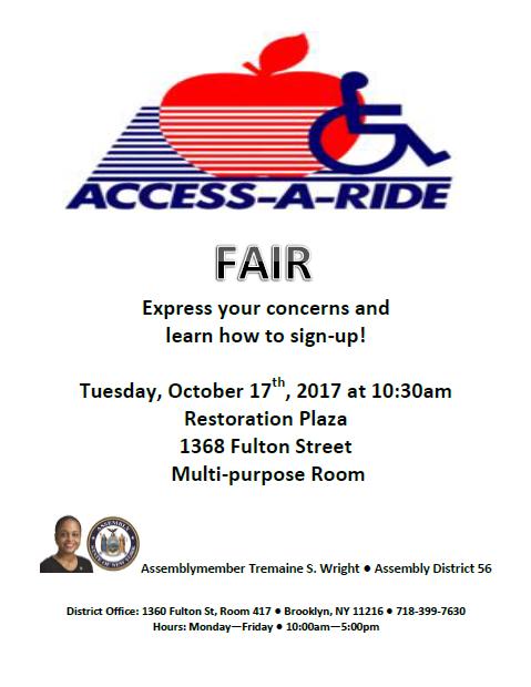 access a ride