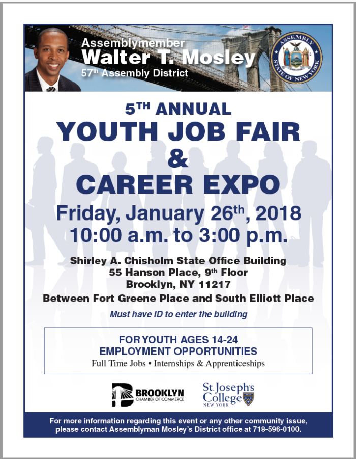 Assemblyman Mosely Job Fair January 26