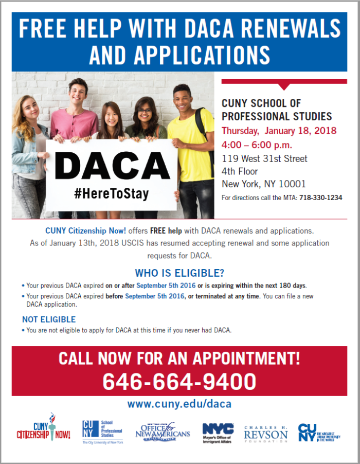 DACA Renewal Applications