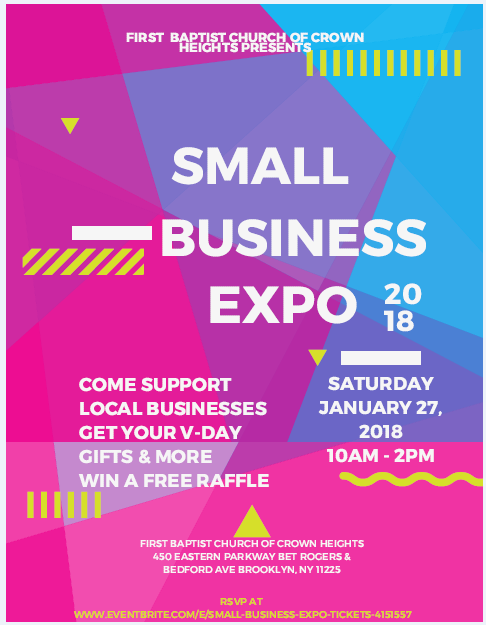 First Baptist Small Business Expo