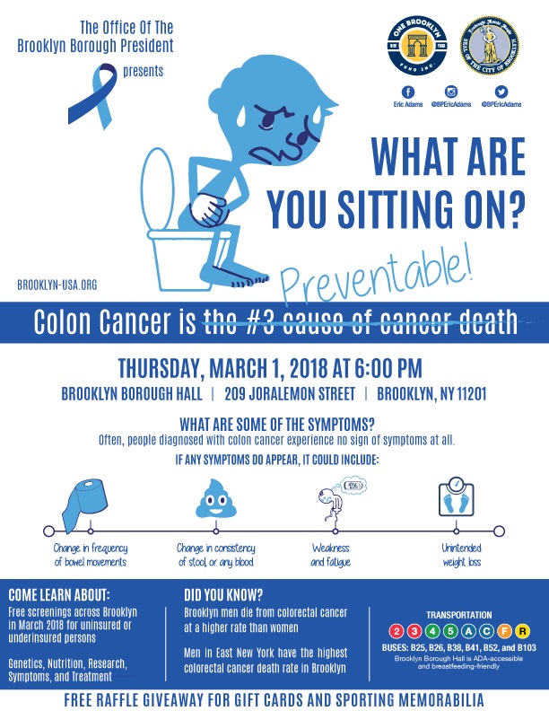 3 1 Event National Colorectal Cancer Awareness Month New York City Council Member Laurie A Cumbo