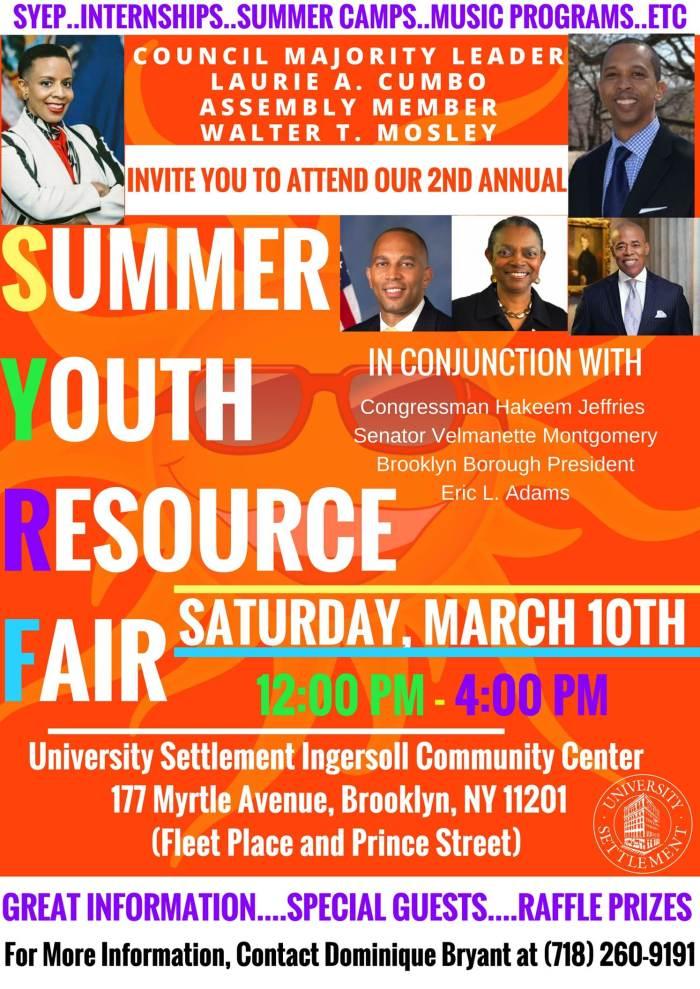 Summer Youth Resource Fair